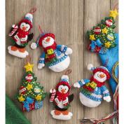Bucilla Seasonal - Felt - Ornament Kits