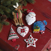 Bucilla Seasonal - Felt - Ornament Kits