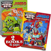 Transformers Rescue Bots Colouring and Activity Book Set
