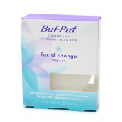 6 Pack Buf-Puf Facial Sponge, Regular - 1 Each