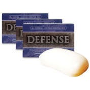 Defence Soap 3-Pack 120ml Soap Body Bar