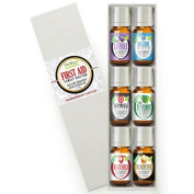 Family Doctor (6) Essential Oil Set 100% Pure, Best Therapeutic Grade - 6/10mL