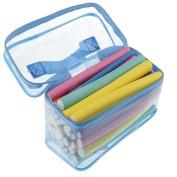 42 Pack Magic Twist Flex Flexi Rods Foam Hair Curlers Styling Tools