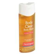 6 Pack Neutrogena Body Clear Body Wash - 250ml Each