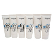 L'Oreal Professional Fix Max Shaping Gel Extra Hold .180ml Pack of 6
