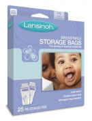 Lansinoh Breastmilk Storage Bags, 25-Count Boxes (Pack of 3) Kids, Infant, Child, Baby Products