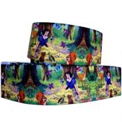 2m x 22mm Disney Princess Snow White & Animal Friends Grosgrain Cake Ribbon For Birthdays, Gift Wrap, Partys