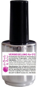 1 Bottle Seal without Sweating Layer 15 ml – For O '2 Nail Printer. Medium Viscosity Clear Glossy