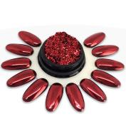 Ocibel Nail Art, False Nails Manicure and Nail Art Powder – Prism Red