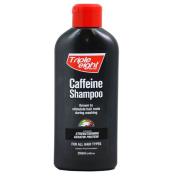 THREE PACKS of Triple Eight Caffeine Shampoo 250ml for All Hair Types