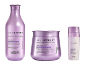 L'Oreal Serie Expert Liss Unlimited Pro Keratin Shampoo 300ml, Masque 250ml and SOS Smoothing Double Serum 30ml