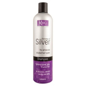 SIX PACKS of Xpel Hair Care Shimmer of Silver Shampoo 400ml