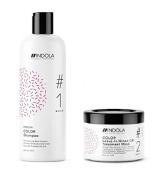 Indola Innova Colour Shampoo 300ml and Leave-In Treatment Mask 200ml