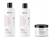 Indola Innova Colour Shampoo 300ml, Conditioner 300ml and Leave-In Treatment Mask 200ml