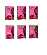 Himalaya Henna Natural Colours – Henne 'for Hair – Various Colours x 6 Packs 100 gr –