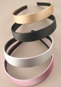 Aliceband - Plain wide (2.5cm) satin fabric aliceband