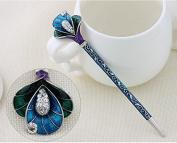 Chinese Traditional Classical Hair Pins Stick Crystal Antique Lotus Fork Hairpin hair Sticks, hair Chopsticks, wedding Hair Jewellery …