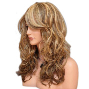 Long Curly Wig Europe And The United States Ladies Chemical Fibre Headdress Long Hair