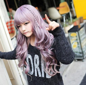 European And American Cos Wig Cosplay Anime Wig Fashion Colour Long Curly Hair