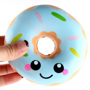 JACKY-Store Kids Children Stress Reliever Squishy Squeeze Playset Lovely Doughnut Cream Scented Squishy Slow Rising Squeeze Soft Toys 11cm