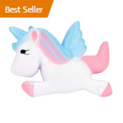 Kawaii Cute Unicorn Squishies Toy Slow Rising Relieves Stress Soft Toy for Children and Adult Toy gift, Decompression Toys