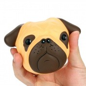 Crazy Dog Scented Squishy Squeeze Toys Jaminy Cartoon Dog Slow Rising Phone Straps Decompression Toy Christmas Gift
