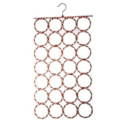 LAAT Creative Circle Scarf Holde Hanger Tie Holder porte-écharpes Paper Rattan Hanger Scarf Standswith 28 Holes