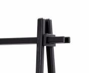 Andersen Design Since 1916 Rack Fittings, Solid Ash coated, Black, 13 x 11 x 4 cm