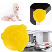 Bazaar House Silicone Desk Table Cushion Soft Bed Corner Edge Anti Crash Sharp Cover Protector Guard Baby Kids Safety