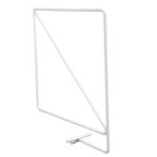 John Sterling 0370-WT Wire Shelf Dividers for Wood Shelving, 21cm , Warm White