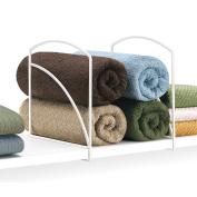 Lynk Shelf Dividers - Closet Shelf Organiser - White