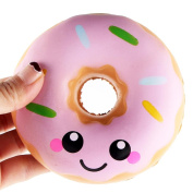 Sansee 11cm Lovely Doughnut Cream Scented Squishy Slow Rising Squeeze Toys Collection