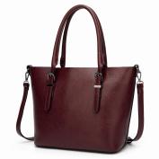 Large Bag Fashion Handbag Tote Bag All Match High-Capacity Large Shoulder Messenger Bag , coffee