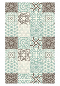 Huella Deco h1064-ca-xs cementine Rug Carpet Mat Floor, Vinyl, 57 x 96 cm