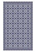 Huella Deco h1008-ca-xs Azulejos Rug Carpet Mat Floor, Vinyl, 57 x 96 cm
