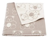 Walton And Co Teddy Baby Blanket
