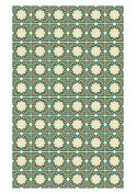 Huella Deco h1022-ca-xs Arabesque Rug Carpet Mat Floor, Vinyl, 57 x 96 cm