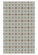 Huella Deco h1024-ca-xs cementine Rug Carpet Mat Floor, Vinyl, 57 x 96 cm
