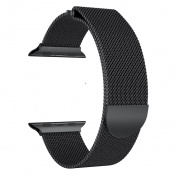 Tolulu Various Magnetic Milanese 316 Stainless Steel Metal Band Strap Wrist Strap Bands Loop Bracelet For 38/42mm Apple Watch Series 3 2 1 iWatch