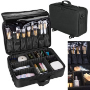 33cm Professional Large Capacity Storage Toiletries Makeup Bag Cosmetic Case Carry Tote Today's Special Offer!