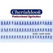 Cherishlook Professional 10packs Eyelashes - Flare Short Black