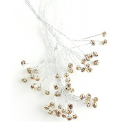 Corsage Creations - 5mm Diamante Branch - Rose Gold