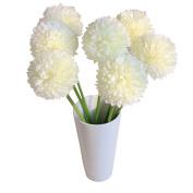 Artificial Silk Flower Bouquet,TianranRT 5pcs Lavender Ball Artificial Silk Flowers Bouquet Home Wedding Party Decor