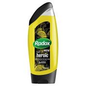 Radox Men Lemon And Tea Tree 2 In 1 Shower Gel 250Ml