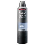 Dove Men+Care Cool Fresh Antiperspirant Deodorant 250Ml