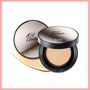 [CLIO] KillCover Founwear Cushion XP SET #004 (Ginger) (Cushion + Refill) 15gx2/Korea cosmetic/TT Beauty
