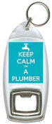 Keep Calm I'm A Plumber - Bottle Opener Keyring