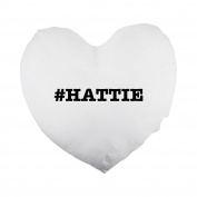 nicknames HATTIE nickname Hashtag Heart Shaped Pillow Cover