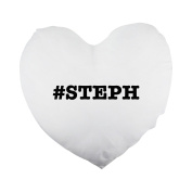 nicknames STEPH nickname Hashtag Heart Shaped Pillow Cover