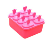 PP Plastic 8 Grids Ice Cubes Mould with Square Shape DIY Kitchen Mould Tools